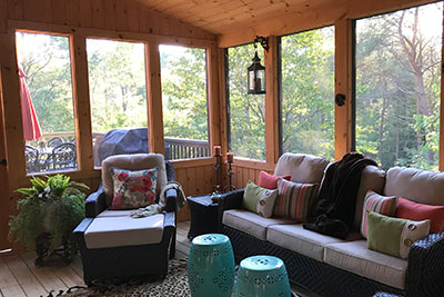 Porch builder Lake Placid NY